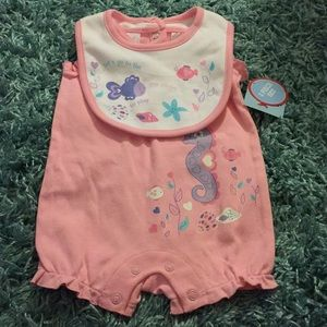 Small Wonders Seahorse Set 0-3 Months NWT